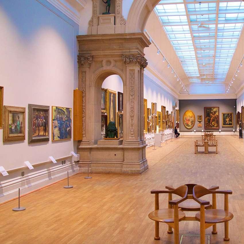 Settore di applicazione prodotti Tecnoklima - musei e show room