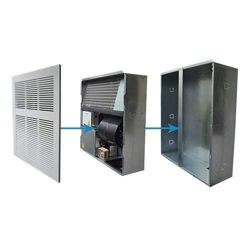ICS-3200 deumidificatore da incasso a parete