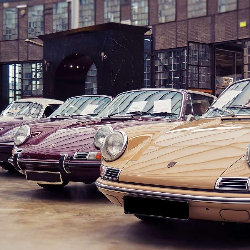 Conservazione di auto d'epoca